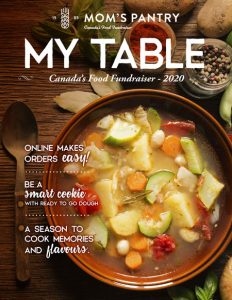 Mom's Pantry My Table Catalogue 2020
