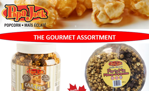 Papa Jacks Gourmet Popcorn